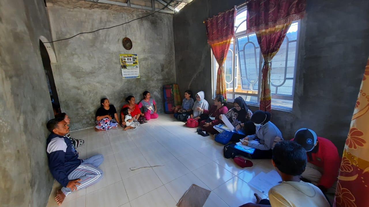 Monitoring sarana prasarana pengolahan, pendataan tata kelola pemanfaatan sumber daya ikan, serta pembinaan mutu Poklahsar Bidadari Surga di Pulau Abang, Kec. Galang.