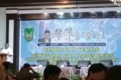 Mengikuti Bimtek Penyusunan Peta Proses Bisnis Instansi Pemerintah di Lingkungan Pemko Batam.